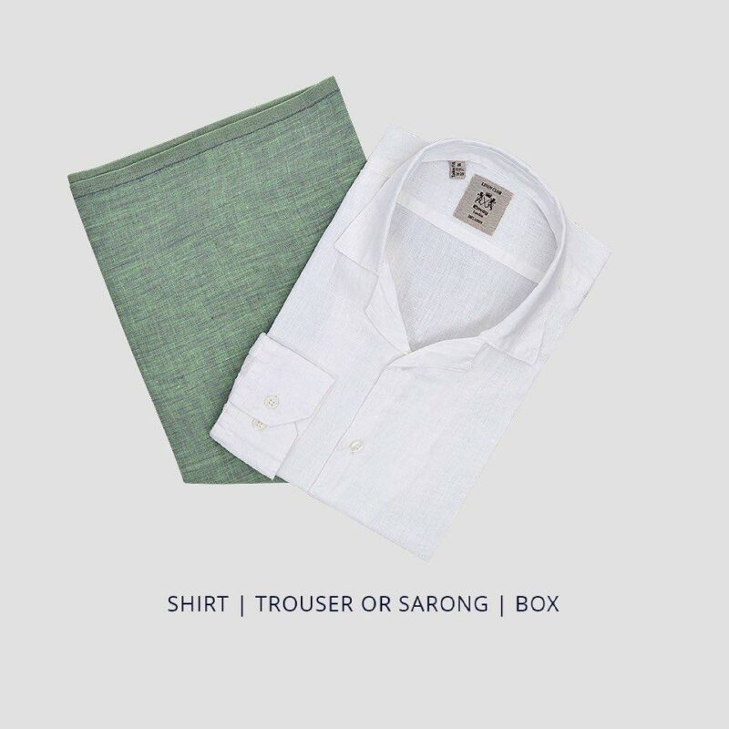 Fathers Day Gift Pack - Simple casualwear pack Shirt and Trouser/Sarong